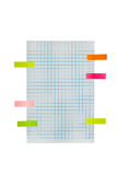Blue grid or graph paper background Royalty Free Stock Images