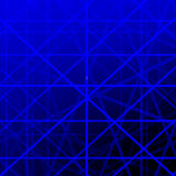Blue grid lines background. Royalty Free Stock Photos