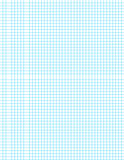 Blue Grid on White Royalty Free Stock Image