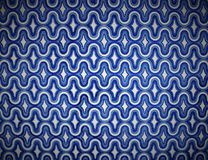 Blue Groovy (Vignette) Royalty Free Stock Photography