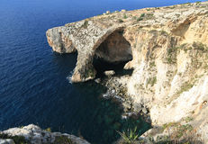 Blue Grotto Royalty Free Stock Image