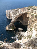 Blue Grotto Royalty Free Stock Photography