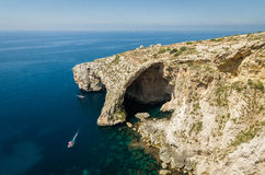 Blue grotto Royalty Free Stock Photos