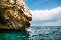 The Blue Grotto area. A sea caverns on the south coast of Malta Royalty Free Stock Photo