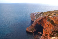 Blue Grotto cave, Zurrieq, Malta Royalty Free Stock Photo
