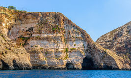 Blue Grotto Caves Stock Image