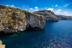Blue Grotto. Royalty Free Stock Image