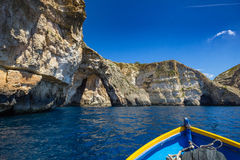 Blue Grotto. Royalty Free Stock Photos