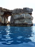 Blue Grotto, Gozo island, Malta. Royalty Free Stock Photos