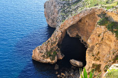Blue Grotto,island Malta Stock Images