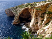 Blue grotto Malta. Blue grotto cave in Malta Stock Photography