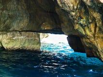 Blue Grotto, Malta Stock Image