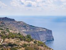Blue Grotto of Malta Stock Photo