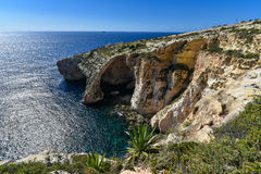 Blue grotto Malta Royalty Free Stock Photography