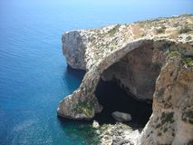Blue Grotto, Malta Royalty Free Stock Images