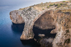 The Blue Grotto in Malta Royalty Free Stock Images
