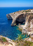 Blue Grotto - one of nature landmarks on Malta Royalty Free Stock Image