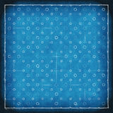 Blue grunge background royalty free illustration