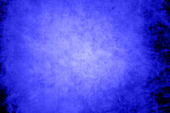 Blue grunge background. Texture of blue grunge old paper Stock Photo