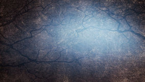 Blue grunge background with space for text or image.  Stock Photography