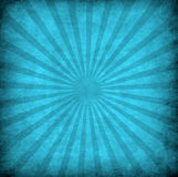 Blue grunge background with sun rays Royalty Free Stock Images