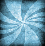 Blue grunge background with sun rays. For multiple uses Royalty Free Stock Photos