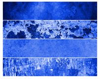 Blue grunge backgrounds Stock Image