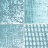 Blue grunge backgrounds collection Stock Image