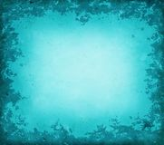 Blue grunge border Stock Images