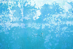 Blue grunge cement wall. Background Royalty Free Stock Images
