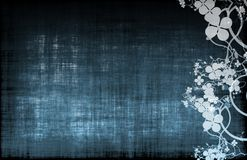 Blue Grunge Design Texture Stock Photography