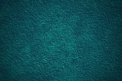 Blue grunge embossed wall 3D texture with vignette Royalty Free Stock Image
