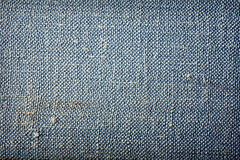 Blue grunge fabric texture background Royalty Free Stock Photography