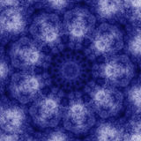 Blue grunge Kaleidoscope tile Royalty Free Stock Photo