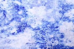 Blue grunge paper Royalty Free Stock Photo