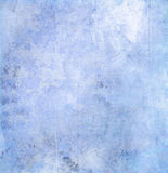 Blue grunge paper texture Royalty Free Stock Photos