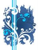 Blue grunge pattern Royalty Free Stock Photo