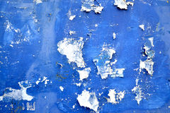 Blue grunge scratched paper board background Stock Photography