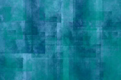 Blue grunge squares paper texture. Blue background with grunge decorative pattern Royalty Free Stock Photos