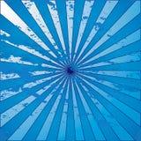 blue grunge starburst Στοκ Εικόνες