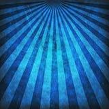 Blue grunge sunbeams background Stock Image