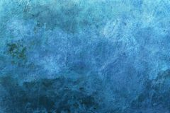 Blue grunge surface, background Royalty Free Stock Photos