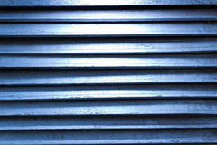 Blue grunge texture of old iron Royalty Free Stock Photo