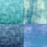 Blue grunge textures Stock Photo