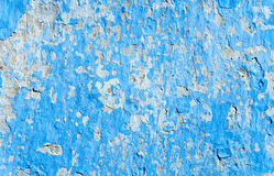 Blue grunge wall Royalty Free Stock Photos