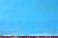 Blue grunge wall for background Royalty Free Stock Photos