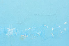 Blue grunge wall Royalty Free Stock Image