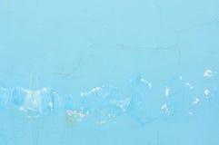 Blue grunge wall Royalty Free Stock Image