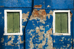 Colorful grunge wall royalty free stock photography