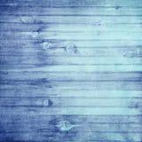 Blue Grunge Wood Background Royalty Free Stock Images